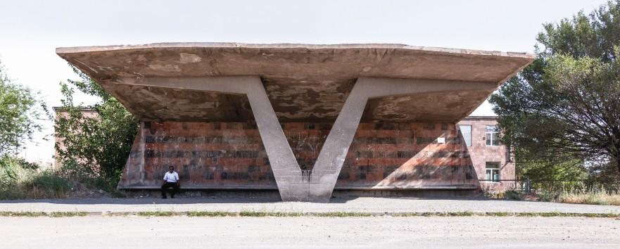 Soviet Bus Stops 6796
