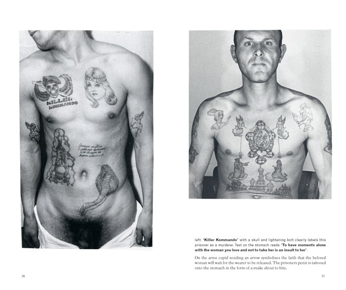 Russian Criminal Tattoo Police Files Vol I 6821