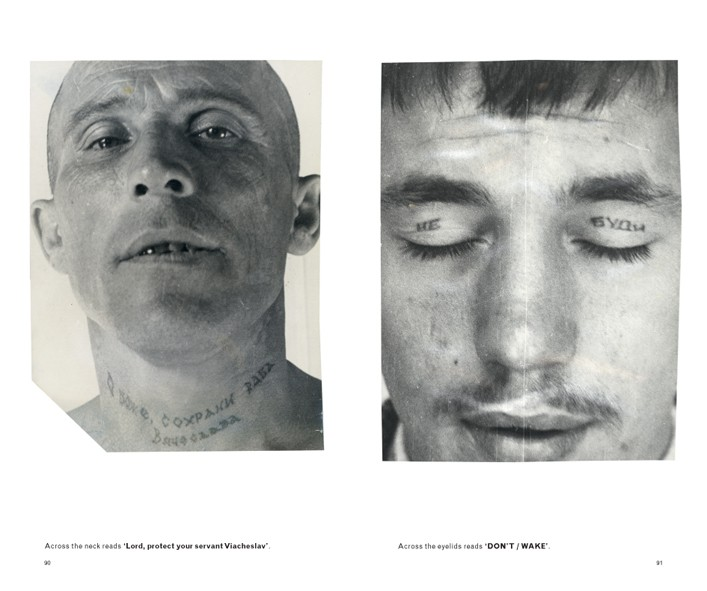 Russian Criminal Tattoo Police Files Vol I 6829