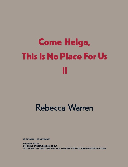 Come Helga, This Is No Place For Us II 7230