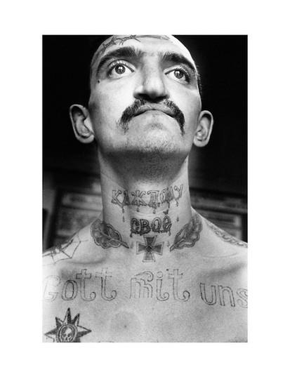 Print No 10 Sergei Vasiliev Photographs Russian Criminal Tattoo Archive Fuel