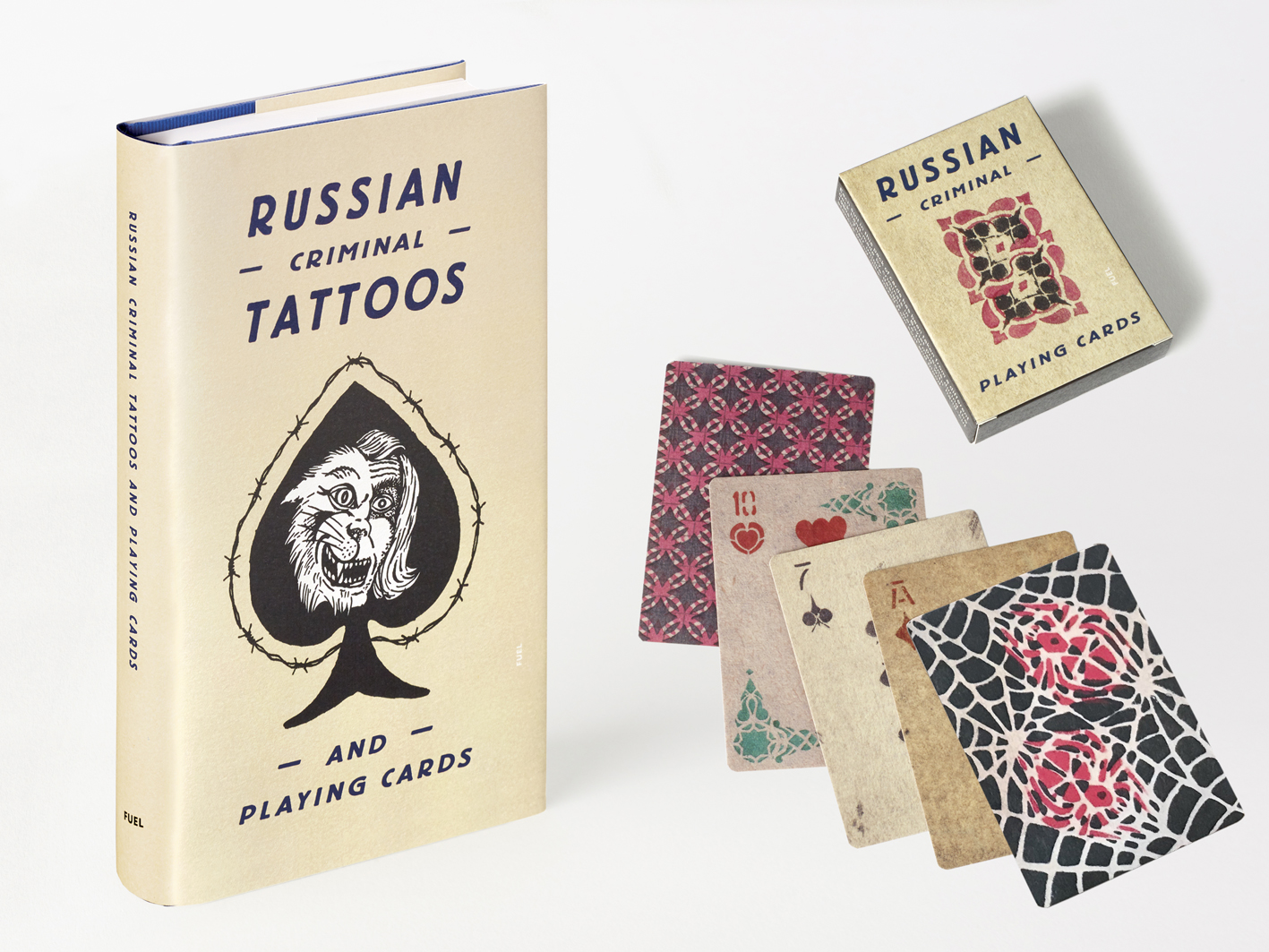 Russian Criminal Tattoos And Playing Cards Current Publishing Bookshop Fuel